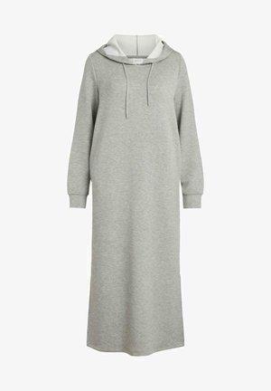 VISIF L S MID CALF LN - Maxi dress - light grey melange