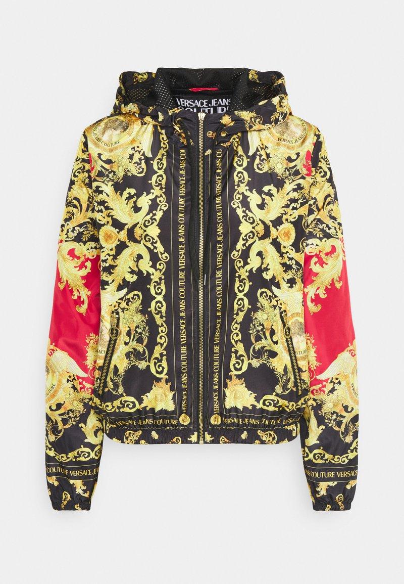 Versace Jeans Couture - LADY DUSTCOAT - Veste légère - carmin/black