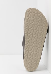 Birkenstock - ARIZONA - Slippers - steer soft gray - 4