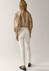 Massimo Dutti - Jeans Skinny Fit - white - 2