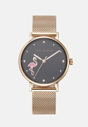 PHYLIPA FLAMINGO - Watch - rosegold-coloured/black
