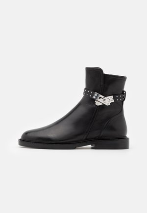 Classic ankle boots - black/silver