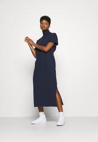 G-Star - NEW DISEM TURTLE DRESS  - Jersey dress - sartho blue - 1