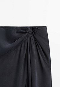 Massimo Dutti - A-line skirt - dark blue - 5