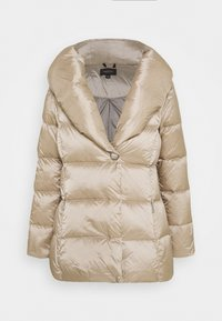 comma - LANGARM - Down coat - champagne - 4