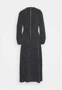 Closet - GATHERED NECK DRESS - Day dress - black - 7