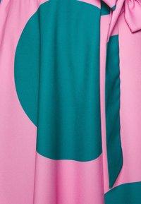 Closet - CLOSET HIGH LOW WRAP DRESS - Day dress - pink - 2