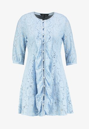 PRECIOUS PETAL MINI DRESS - Day dress - light blue