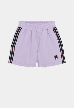 CLAIR TAPED - Shorts - pastel lilac