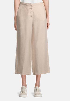 Trousers - cream nature