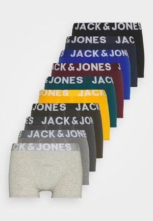 JACMIKE TRUNKS 10 PACK - Boxerky - black/navy blazer