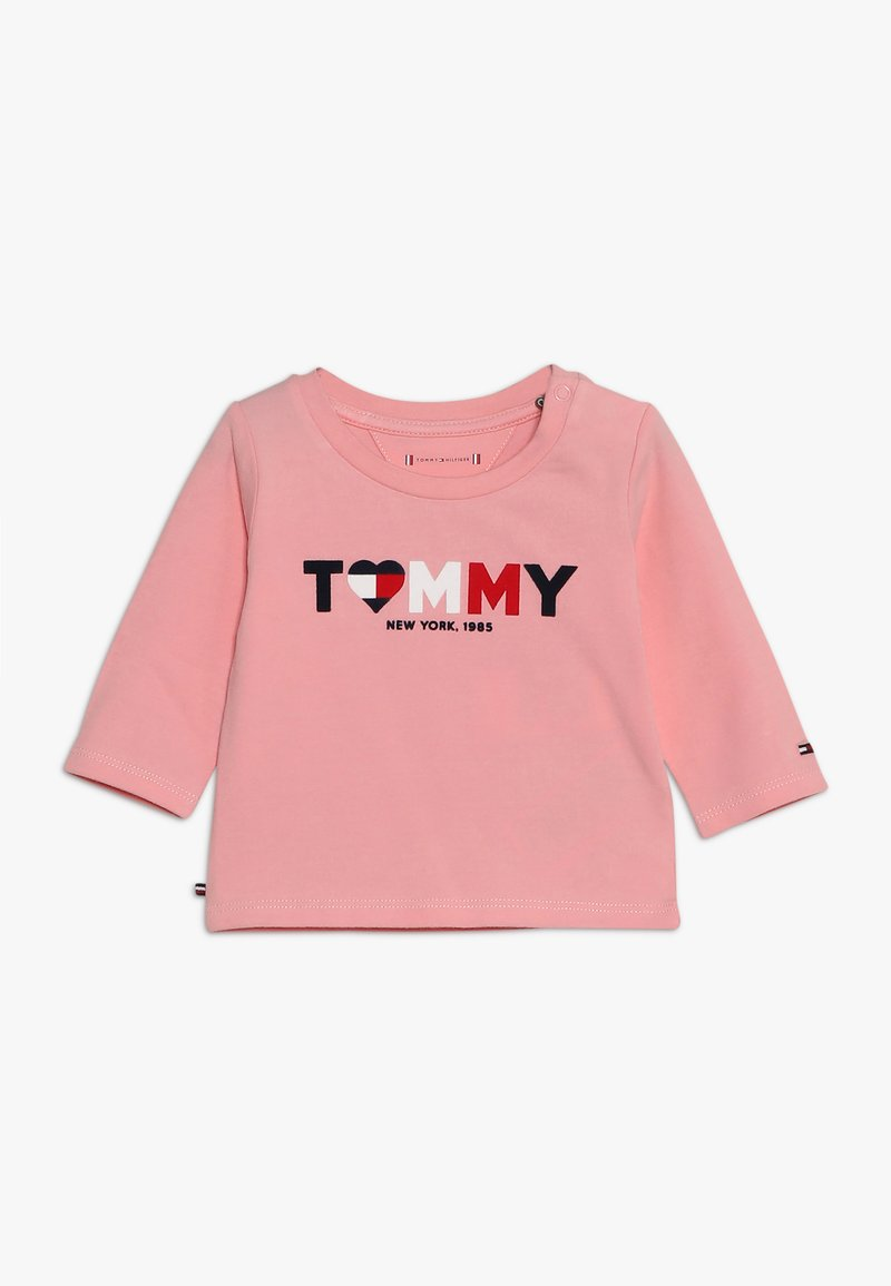 Tommy Hilfiger - BABY GIRL TEE - Long sleeved top - pink icing