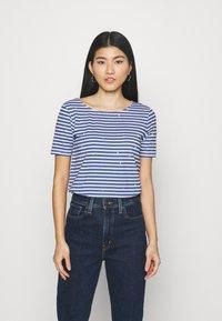 Anna Field - T-shirts med print - blue - 0