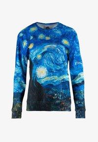Mr. GUGU & Miss GO - THE STARRY NIGHT - Sweatshirt - blue - 4