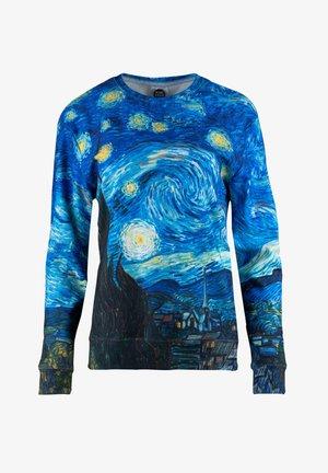 THE STARRY NIGHT - Sweatshirt - blue