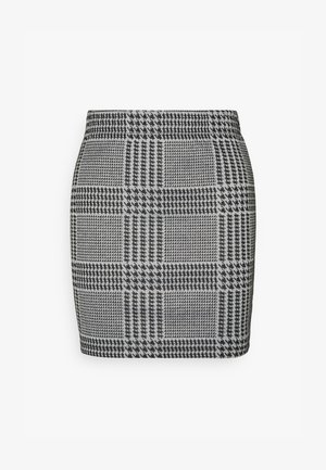 JDYCALLE SHORT PENCIL SKIRT - Miniskjørt - cloud dancer/black