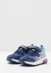 Geox - SPACECLUB GIRL FROZEN ELSA - Trainers - navy/lilac - 2