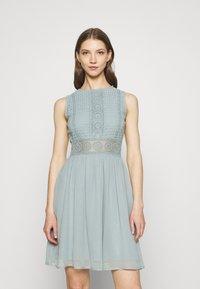 Lace & Beads - CHERELLE SKATER - Koktejlové šaty/ šaty na párty - teal - 0
