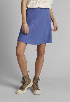 A-line skirt - wedgewood