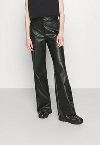 Stieglitz - DINARA PANTS - Kalhoty - black - 2