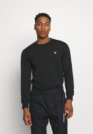STAR CHEVRON PHOTO LONG SLEEVE - Långärmad tröja - black