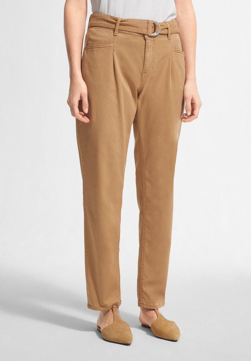 comma casual identity - Trousers - brown
