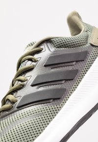 adidas Performance - RUNFALCON - Neutral running shoes - raw khaki/core black/footwear white - 5