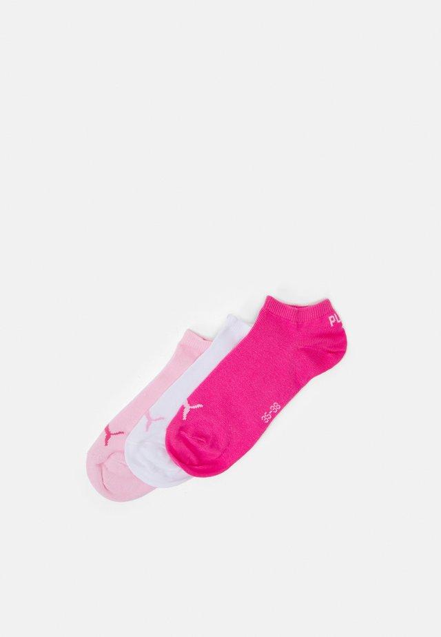 SNEAKER 3 PACK UNISEX  - Varrettomat sukat - pink lady