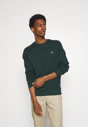 CREW NECK - Sweatshirt - dark green