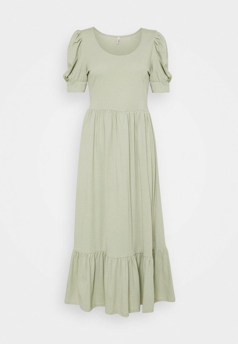 ONLY - ONLMAY LIFE PUFF DRESS - Maxi dress - desert sage