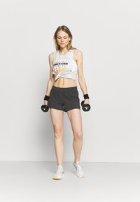 Under Armour - PROJECT ROCK IRON TANK - Top - summit white - 1