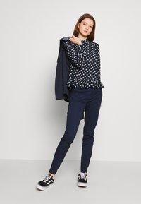 JDY - JDYRANTINI - Button-down blouse - navy blazer - 1