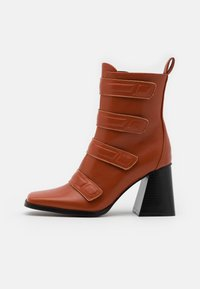 RAID - AILEEN - Kotníková obuv na vysokém podpatku - cognac - 1