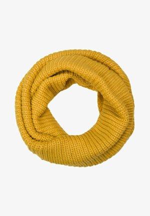Unisex Feins einfarbiger Loop Schlauchs - Snood - gelb
