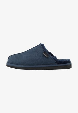 HUGO - Kapcie - dark navy