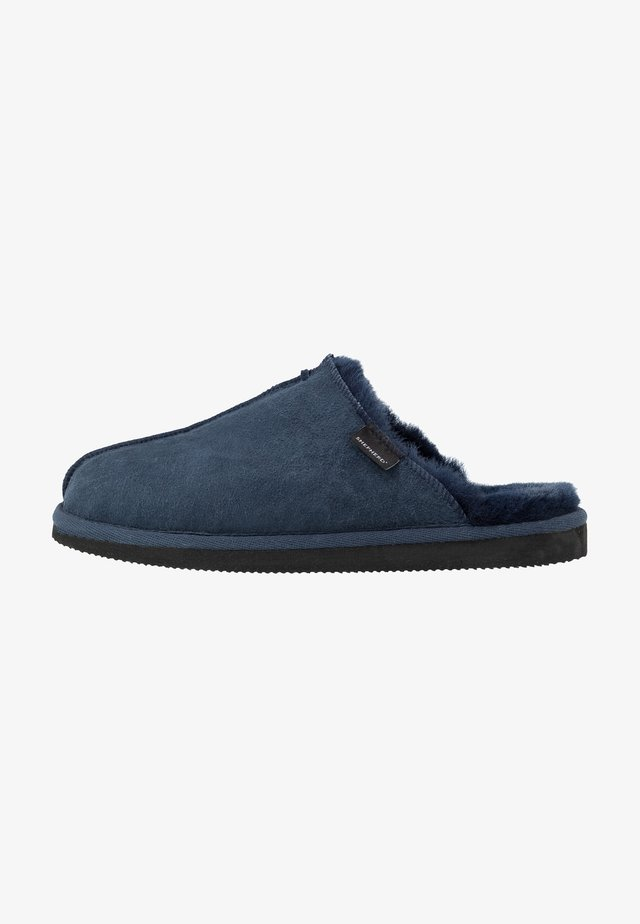 HUGO - Slippers - dark navy