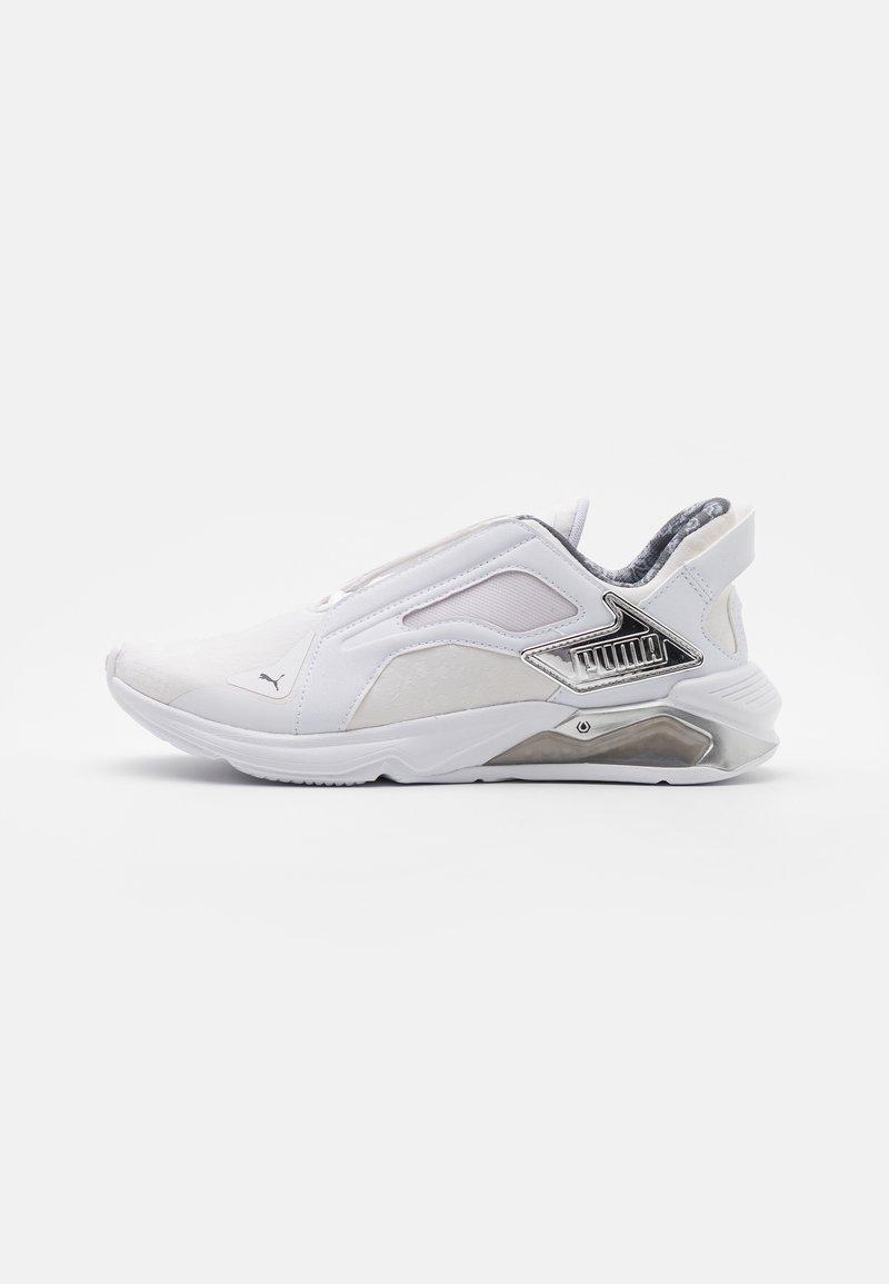 Puma - LQDCELL METHOD - Zapatillas de entrenamiento - white/silver/black
