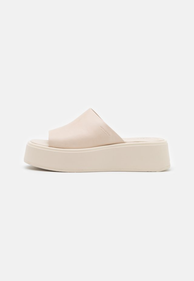 COURTNEY - Mules à talons - offwhite