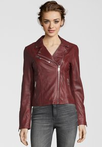 Apple of Eden - GHOST - Leather jacket - red - 0