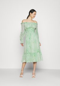 Lace & Beads - REBECCA MIDI - Day dress - mint - 0