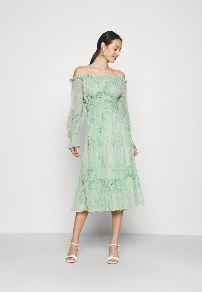 Lace & Beads - REBECCA MIDI - Day dress - mint