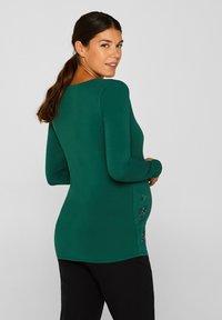 Esprit Maternity - Long sleeved top - bottle green - 2