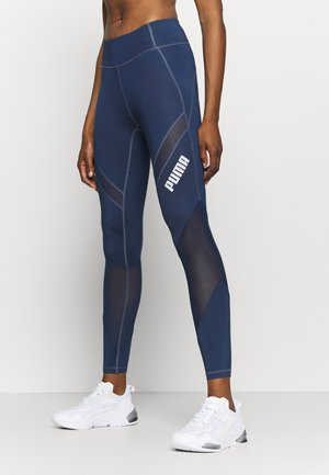 PAMELA REIF X PUMA COLLECTION MID WAIST - Leggings - sargossa sea