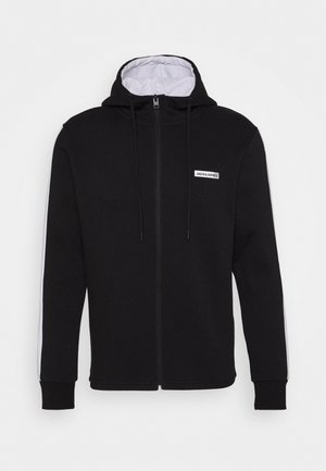 JCOZ SPORT FULL ZIP HOOD - Collegetakki - black