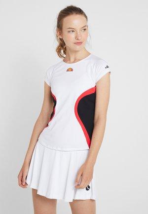 YALENA - T-shirts print - white