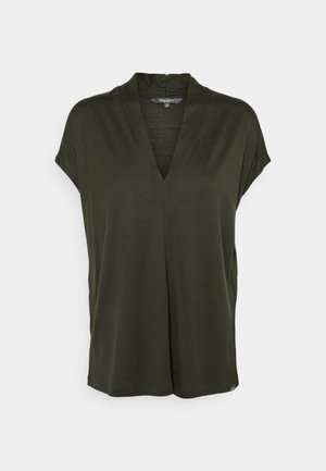 Basic T-shirt - deep leaf green