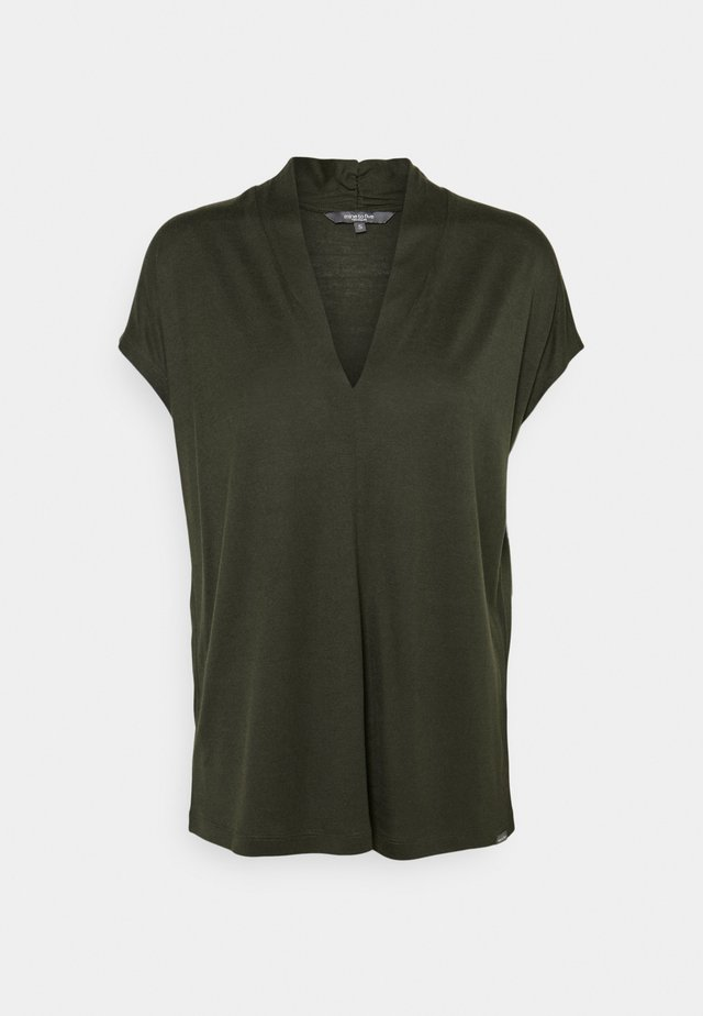 T-shirt basique - deep leaf green