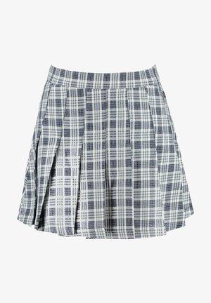 A-line skirt - deep blue