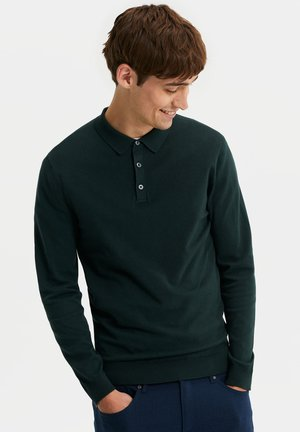 Polo shirt - moss green