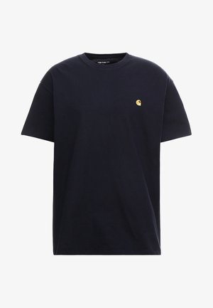 CHASE  - Basic T-shirt - dark navy/gold
